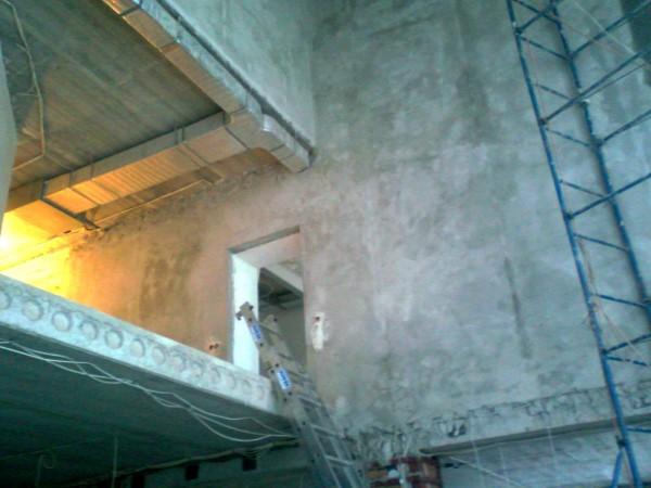 Вырезка проёма для лестницы