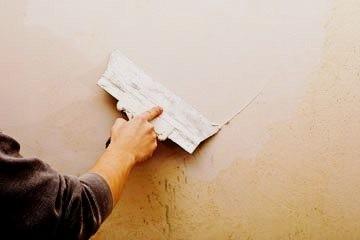 Выровнять стены Выравнивание стен и потолков штукатуркой