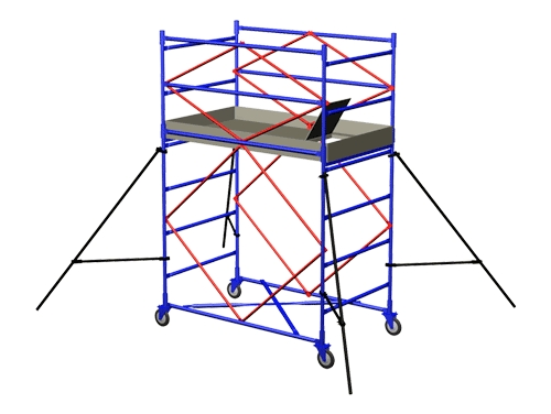 Вышка тура модульная 2,0*0,7 м
