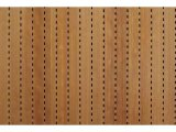 Фото  1 Акустические панели Decor Acoustic звукопоглощающая 2768 х320 х16.4мм с перфорацией под дерево вишня 2082467