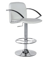 Высокие барные стулья HY 334 белый (white), HY 334 (black) черный для барных стоек кафе, салонов