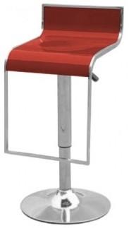 Высокие барные табуреты Огус белый, темно-красный, черный (Ogus) Киев, купить барный стул Огус в Киеве