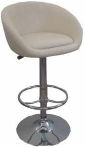 Высокий барный стул HY 302 бежевый, белый, коричневый, черный, красный