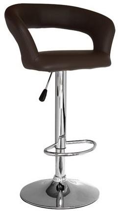 Высокий барный стул HY 302 бежевый, белый, коричневый, черный, красный купить Киев
