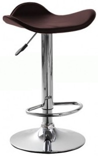Высокий барный стул HY 303 черный, коричневый, красный, белый, бежевый Киев, размер