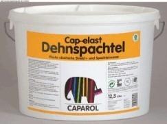 Высокоэластичная фасадная масса Cap-elast Dehnspachtel Caparol. для промежуточных покрытий на шероховатых подложках.