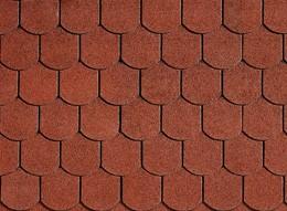 Высококлассная традиционная черепица IKO Viktorian 10 Tile Red