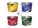 Фото  2 Высокопрочная моющаяся акриловая краска Akrit 20 Eskaro (2,85л) 2844254