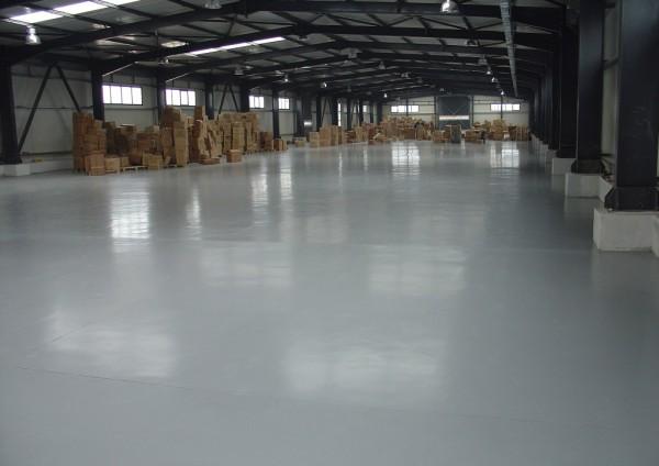 Высокопрочные промышленные бетонные полы