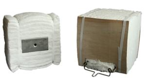Высокотемпературная теплоизоляция — МОДУЛЬНЫЕ БЛОКИ из керамического волокна