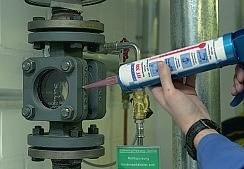 Высокотемпературный , химостойкий силиконовый герметик