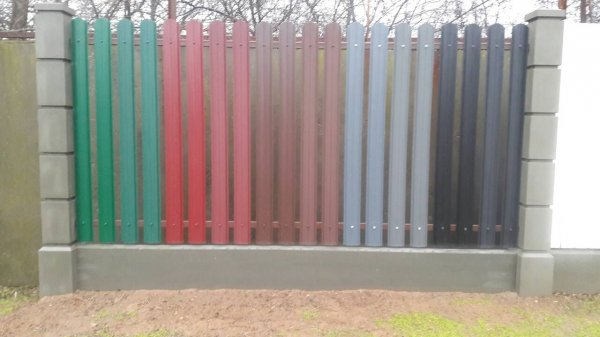Фото 5 Забор для дома, дачи, баз отдыха, пансионата, гостиниц, профнастил. 332604