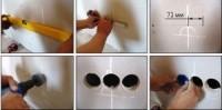 Высверливание отверстия под подрозетник в гипсокартонной стене установка подразетника входит в стоимость