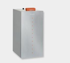 Vitoligno 300-P Полностью автоматический пелетний котел наивысшего класса. тепловая мощность: от 4 до 48 кВт.