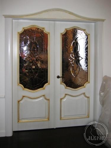 Витражи в межкомнатные двери 6