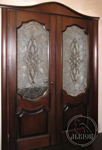 Витражи в межкомнатные двери 8