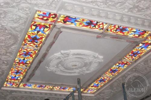 Витражи в подвесной потолок 11