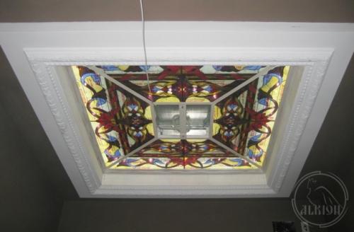 Витражи в подвесной потолок 13