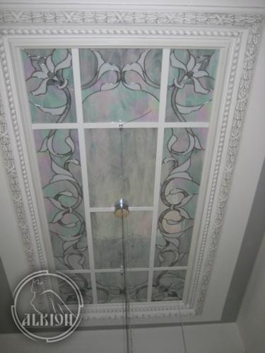 Витражи в подвесной потолок 16