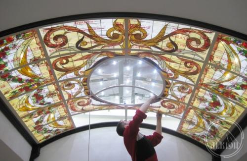 Витражи в подвесной потолок 21