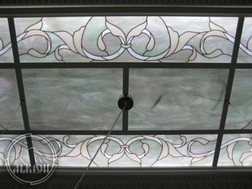Витражи в подвесной потолок 22