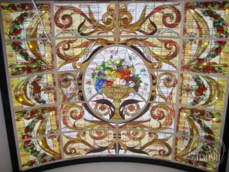 Витражи в подвесной потолок 29