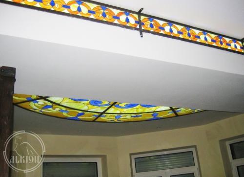 Витражи в подвесной потолок 3