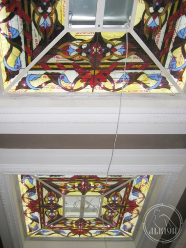 Витражи в подвесной потолок 34