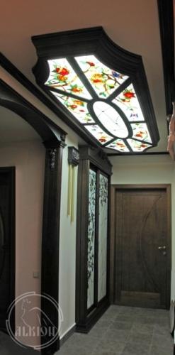 Витражи в подвесной потолок 37