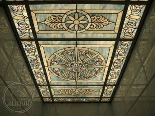 Витражи в подвесной потолок 6