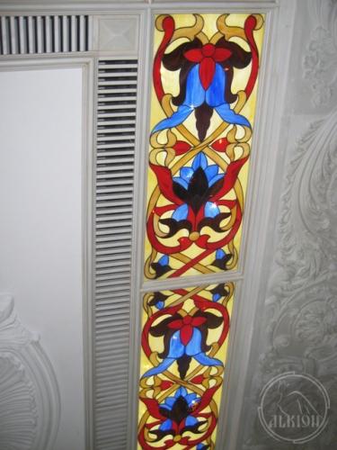Витражи в подвесной потолок 7