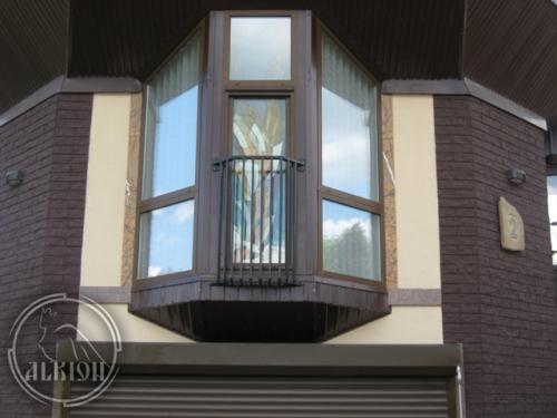 Витражи в стеклопакетах для метеллопластиковых конструкций 3