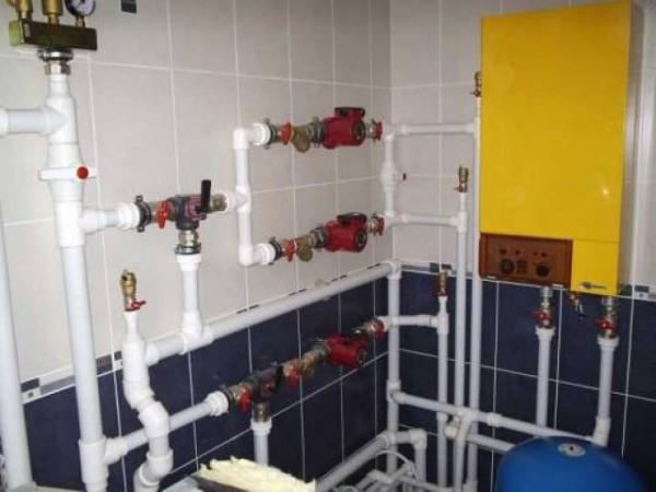 Вывод полипропиленом: холодная, горячая вода и канализация