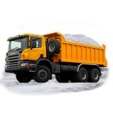 Вывоз снега 24 часа в сутки.