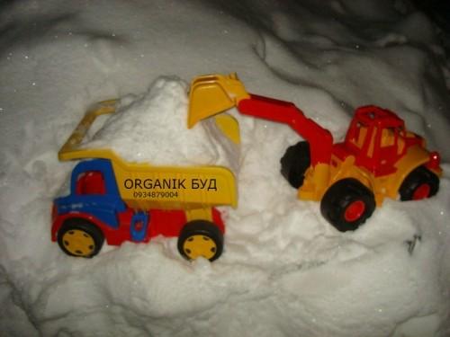 вывоз снега в Киеве и области