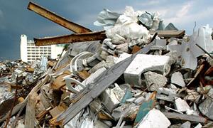 Вывоз стр. мусора (Ман) 20 тонн с промышленного объекта