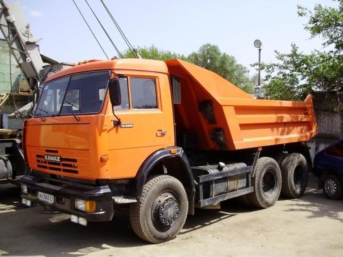 Вывоз строительного мусора КамАЗ 55111 гп 13 т, кузов 8 м. куб.