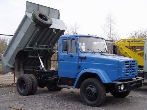 Вывоз строительного мусора Зил 5т Днепродзержинск.