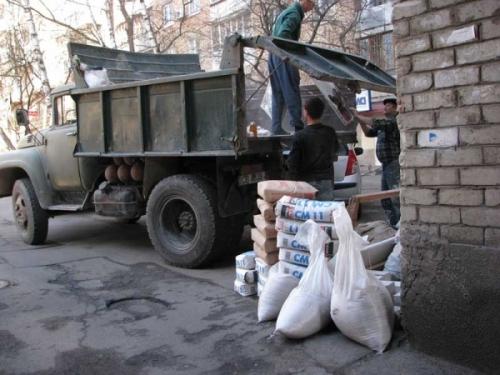 Вывоз вынос Строительного мусора Харьков.