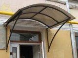 Фото  5 Козырек. Используемые материалы - профильная труба 20х20мм, поликарбонат бронзовый толщиной 8мм.Цена указана зам2. 594597
