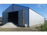 Фото 1 Ангари. Каркасні ангари під зерносховища, будівництво, виготовлення 336123