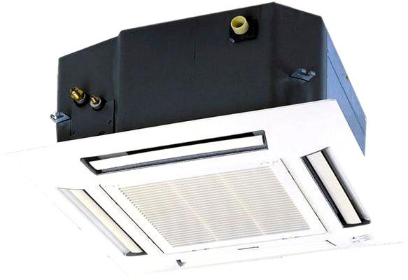 Внутренний блок кондиционера касетного типа Panasonic CS-E10HB4EA с 4-сторонним распределением воздуха в Одессе