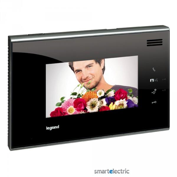 Внутренний видео-блок 7 цветной дисплей черный