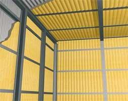 Внутренняя изоляция промышленных зданий пенополиуретаном Elastospray