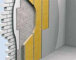 Внутренняя теплоизоляция деревянно-каркасной конструкции стен пенополиуретан ППУ Elastospray