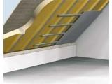 Внутренняя теплоизоляция между балками пенополиуретан ППУ Elastospray