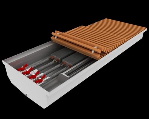 Внутрипольный конвектор для влажных помещений Fancoil FCFW Plus