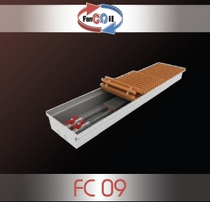 Внутрипольный конвектор FanCOil FC09