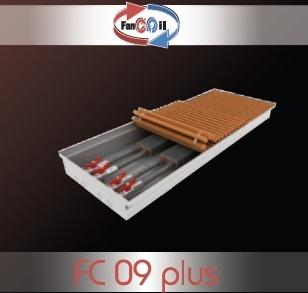 Внутрипольный конвектор FanCOil FC09 plus