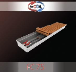 Внутрипольный конвектор FanCOil FC75 mini